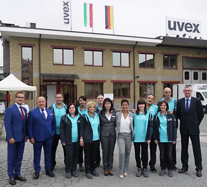uvex safety Italia: il team della filiale di Torino